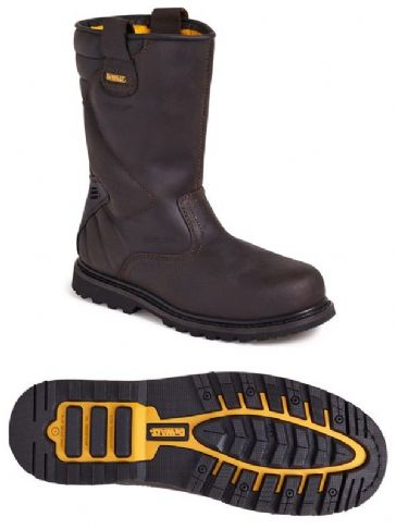 Dewalt Classic Rigger Safety Boot Brown